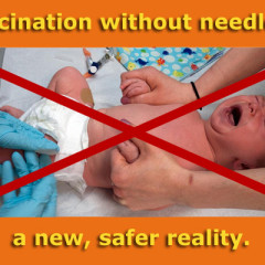 Vaccination without needles… a new, safer reality (with video).
